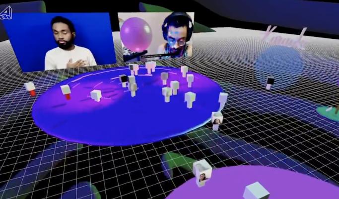 screenshot of an Arium event